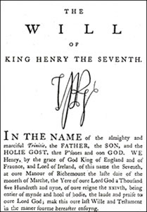 will-of-king-henry