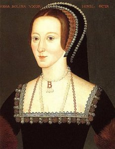 Anne Boleyn B necklace