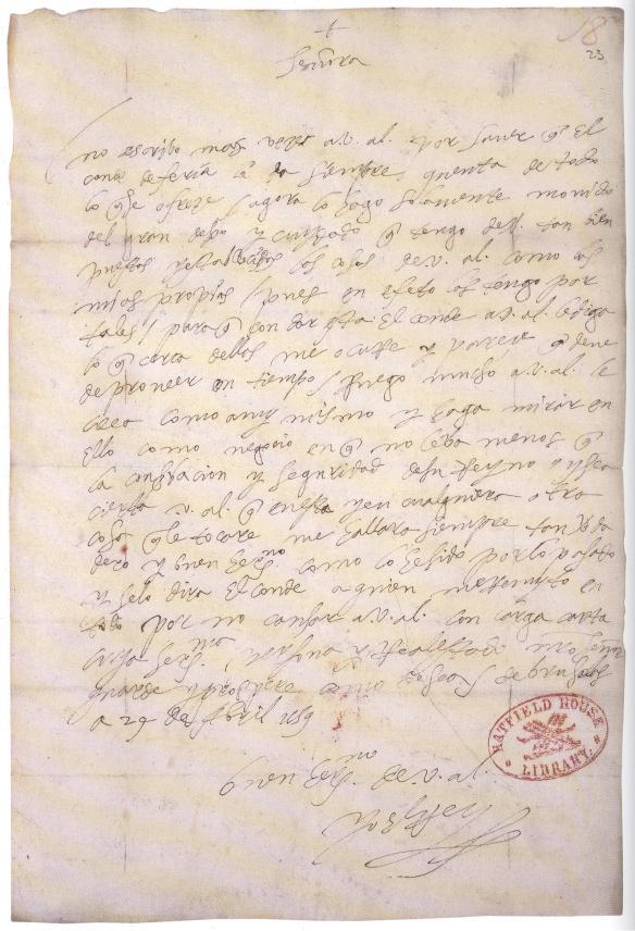 Feria letter