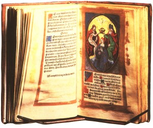 Anne book of hours with inscription