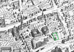 Ralph_Agas_map_of_Oxford_1578_Jesus_marked